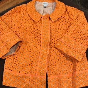 Chico Crop Jacket Size 3